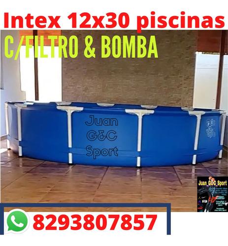 Piscina En Oferta Disponibles Intex 12x30