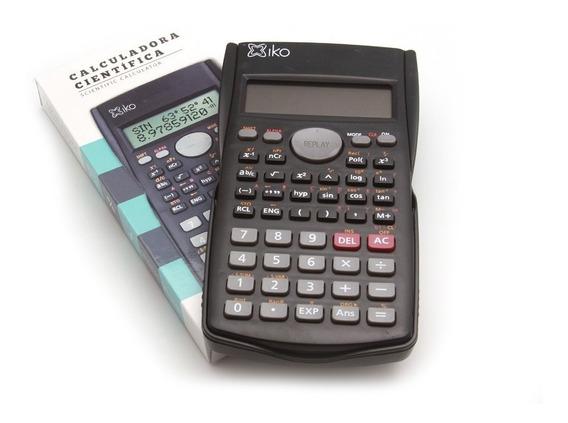 Calculadora Científica 10 Dígitos Funciones Escolar Full