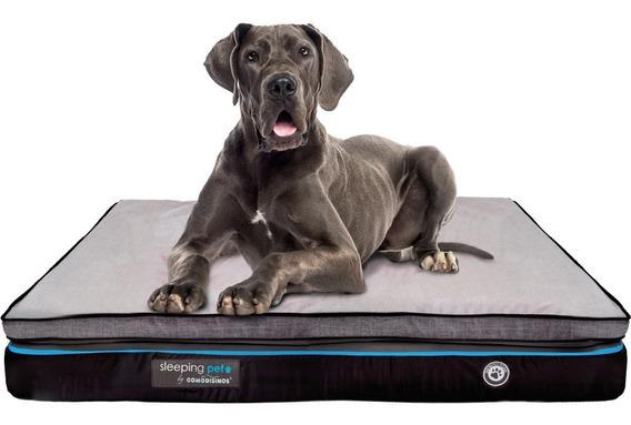 Cama Mascotas Perro Cozy Coils Gigante Semifirme 90x140x18
