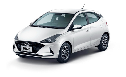 Imagem 1 de 7 de Hyundai New Hb20 1.6 Mt Vision 21/22 (branco)