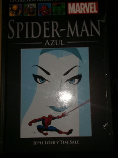 Libro Spiderman Azul Salvat