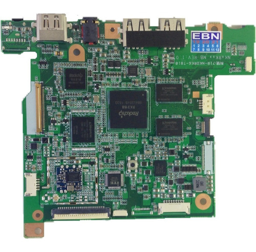 Placa Mãe Positivo Sx1000 71r-nk0rk6-t810 Rev.:1.0 Dual Core