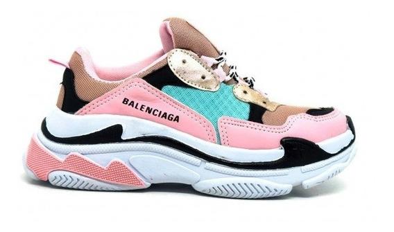 Tênis Feminino Balenciaga Triple S Lançamento