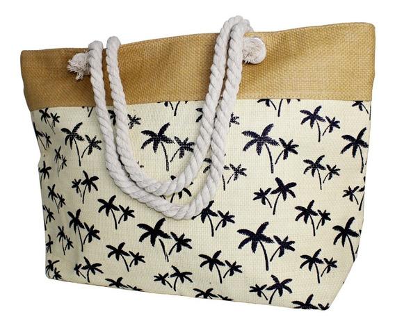 Bolsa Feminina Grande De Praia Espaçosa Moda Verão