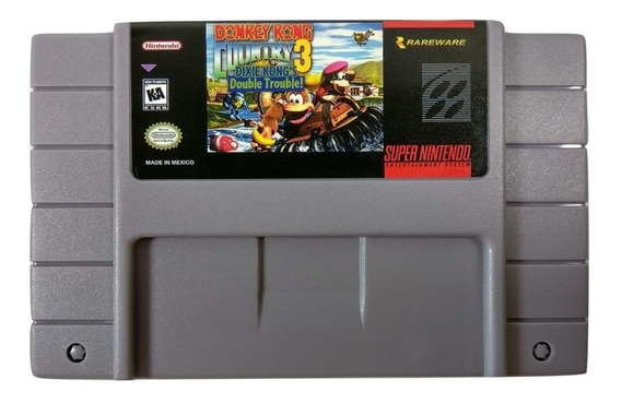 Donkey Kong Country 3 - Super Nintendo Snes