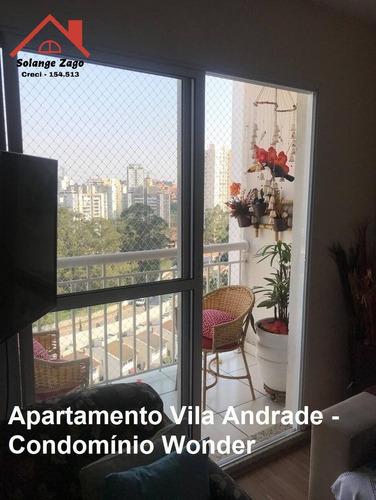 Apartamento Vila Andrade - 3 Dorms - 67 Mts - - 1673
