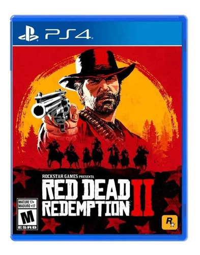 Imagen 1 de 4 de Red Dead Redemption 2 Standard Edition Rockstar Games PS4 Físico