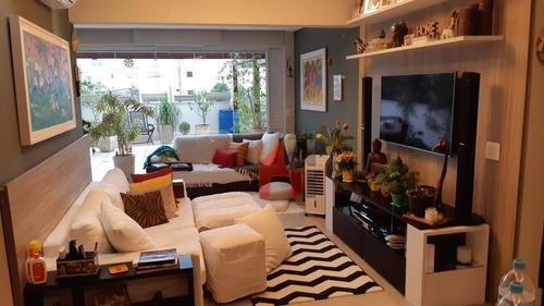 Apartamento À Venda, 133 M² Por R$ 1.300.000,00 - Brooklin - São Paulo/sp - Ap0758