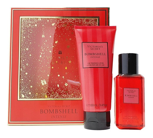 Imagen 1 de 3 de Bombshell Intense Victoria's Secret Kit De Regalo