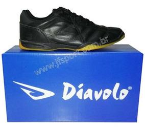 Tênis Futsal Couro Legítimo Diavolo Classic - 33 Ao 44