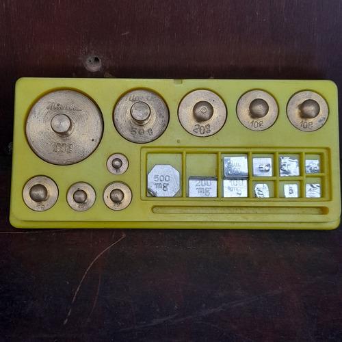 Imagem 1 de 8 de Cepo Kit Peso Pequeno Marca Marte Antigo Completo Ler