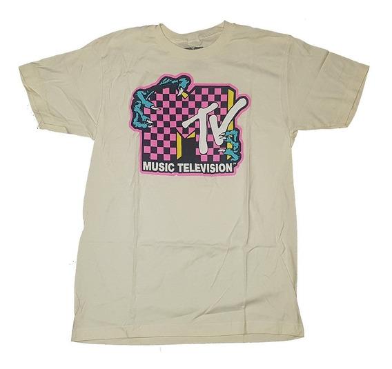 Remera Mtv Original Talle M Y Xl Importada Nueva!