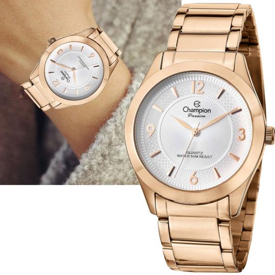 Relógio Champion Feminino Rosê Cn28866z P/ D