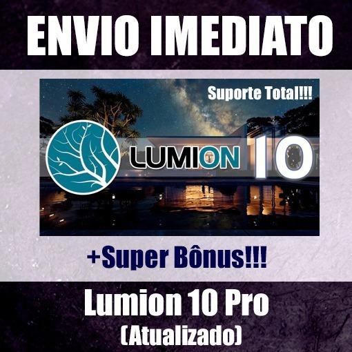 Licença Janeiro/2020 Lumion 10 Pro + Super Bônus + Envio Já
