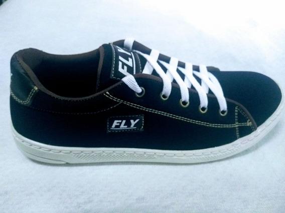 Sapato Tenis Fly Preto