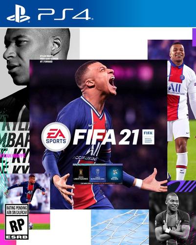 Juego Fifa 21 Ps4 Play Station 4 Fisico Fifa21 +libertadores