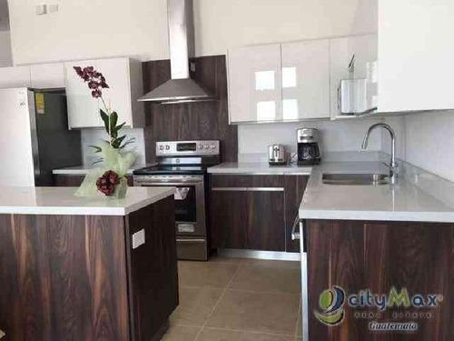 Bonito Apartamento En Renta En Ramblas De Cayalá, Z 16 - Paa-032-08-16