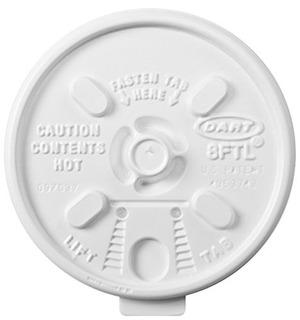 Tapa Dart 8ftl White Lift N Lock 100 Conteo