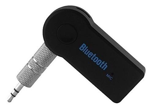 Adaptador O Receptor Bluetooth A Aux Para Equipos Auto Y Cas