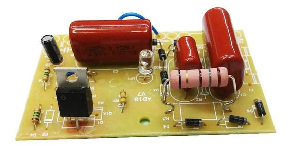 Placa Eletrificador 50.000m² + Bobina 50km E Cap. 5uf X 250v