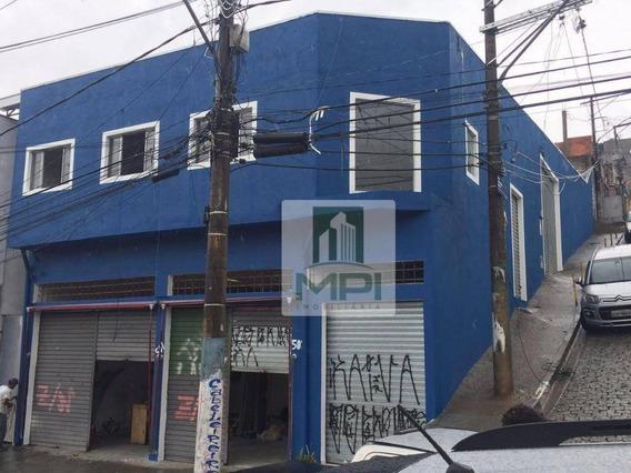 Salão Para Alugar, 120 M² Por R$ 1.500,00/mês - Jardim Peri - São Paulo/sp - Sl0042