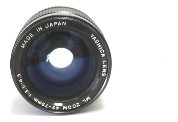 Lente Yashica 42-75mm Retro Coleção P/ Retirada De Peça