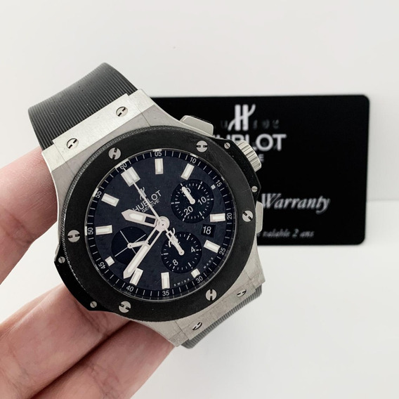Hublot Big Bang Evolution Cerâmica 44 Mm Completo