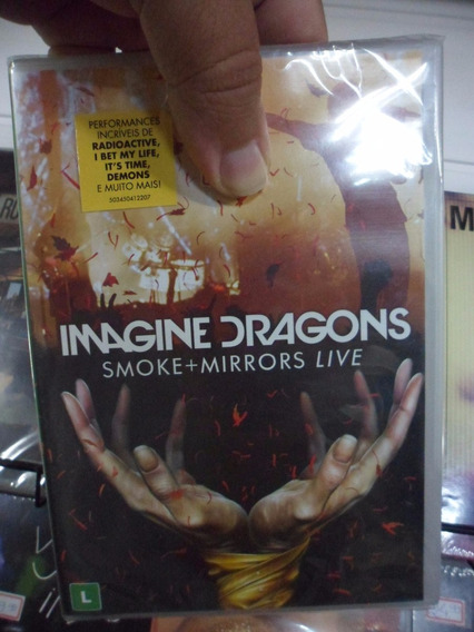 Dvd Imagine Dragons - Smoke+mirrors Live