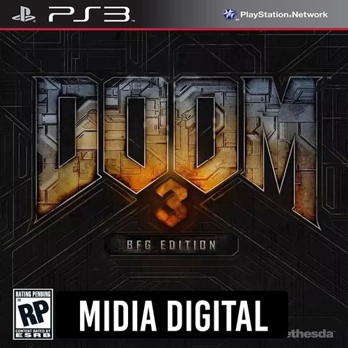 Doom 3 Bfg Edition - Ps3 Psn*