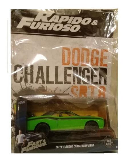 Coleccion Rapido Y Furioso La Nacion - N°12 Dodge Challenger