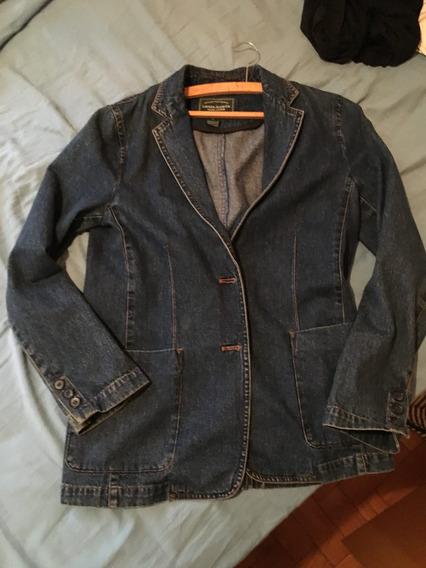 Casaco Blazer Ralph Lauren S Em Jean