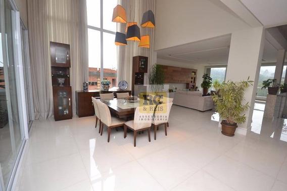 Casa Com 4 Dormitórios À Venda, 700 M² Por R$ 4.000.000,00 - Tamboré 10 - Santana De Parnaíba/sp - Ca1854