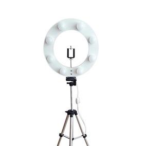 Kit Iluminador Ring Light Led P/ Selfie Make *sem Lâmpada Bc