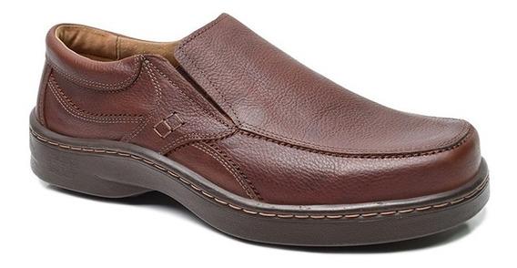 Zapato Cuero Hombre Sin Cordon Art 5249. Marca Free Comfort