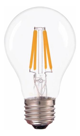 Lâmpada Led Bulbo Filamento 4w Branco Quente 2700k G-light