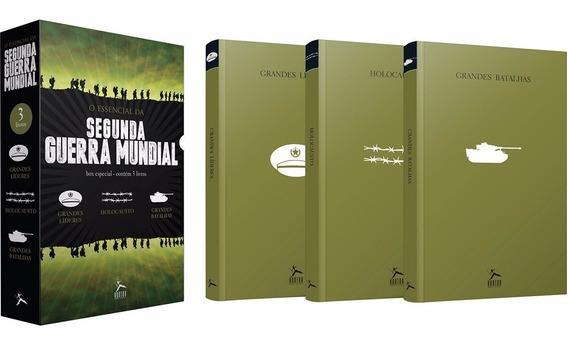 3 Livros Box Essencial Da Segunda Guerra Mundial