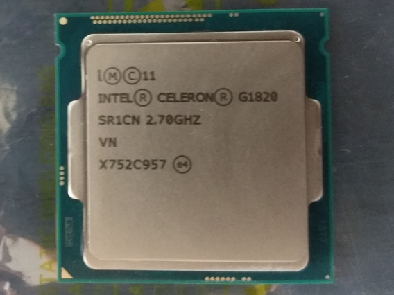 Processador Intel Celeron G1820