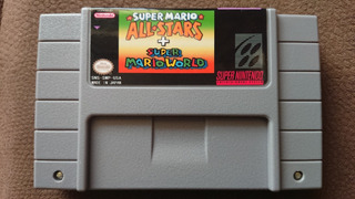 Super Mario All Stars Snes Repro,nuevo Y Guardando Partidas