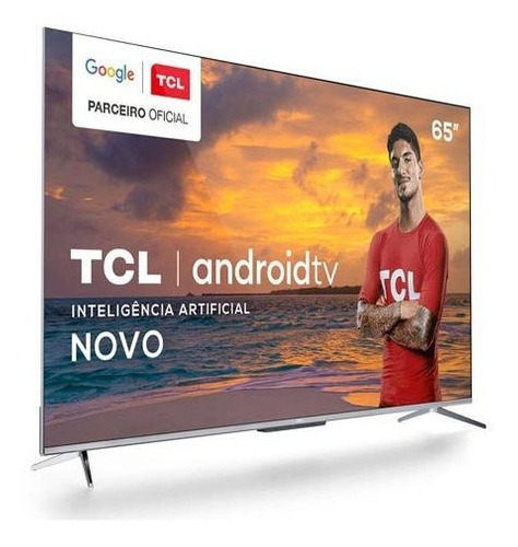 Smart Tv Tcl Led 4k 65  Android Tv, Google Assistant -65p715