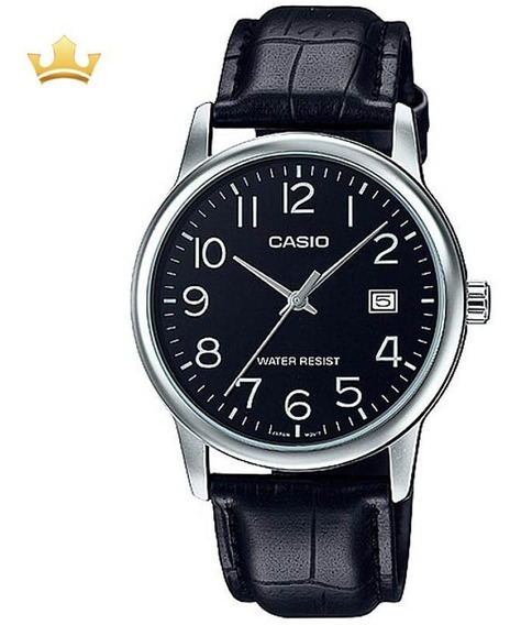 Relógio Casio Masculino Mtp-v002l-1budf Com Nf