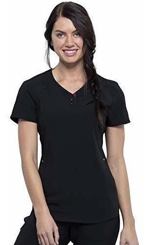 Cherokee Iflex Ckk815 Katie Duke Camiseta De Manga Corta Par