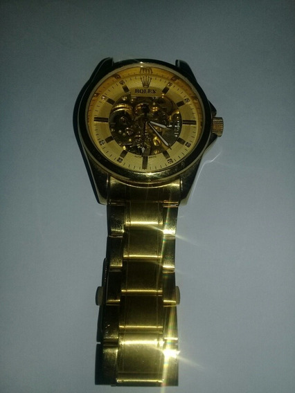 Reloj Rolex Clon Stainless Steel Back