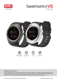 Smartwatch Kolke V12 Android 4.4
