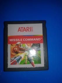 Cartucho 2 In 1 Missile Command E Grand Prix Para Atari