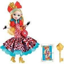 Ever After High Way Too Wonderland Apple White Doll