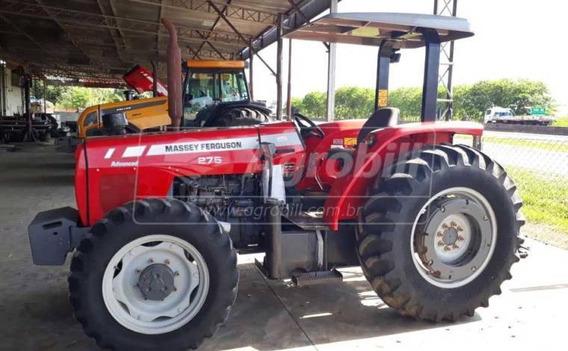 Trator Massey 275 4×4 Advanced Ano 2009 Com 4645 Horas