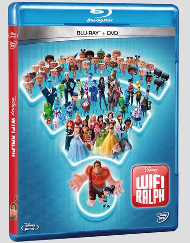 Imagen 1 de 1 de Disney Wifi Ralph Bluray + Dvd Combo Nuevo Cerrado