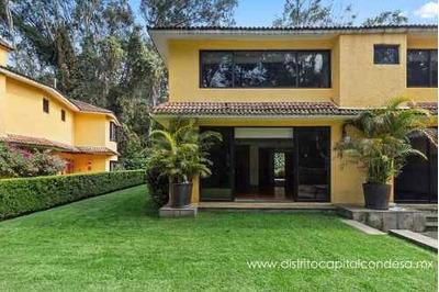Casa En Renta En Lomas Altas, Del. Miguel Hidalgo, Cdmx