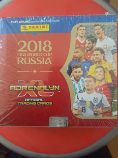 Cartas Adrenalyn Fifa World Cup Rusia 2018