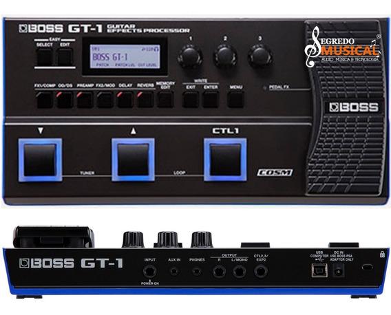 Pedaleira Boss Gt1 Multi Efeitos Gt-1 P/guitarra C/ Fonte